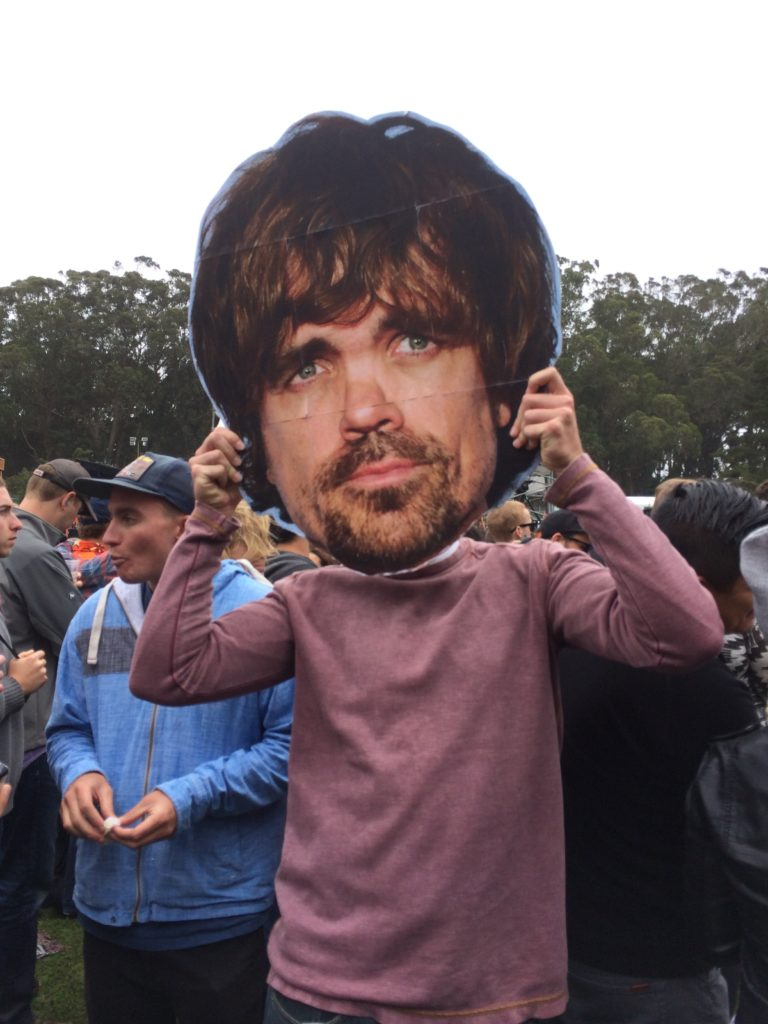 Tyrion Lannister's face - Photo By Mira Veda