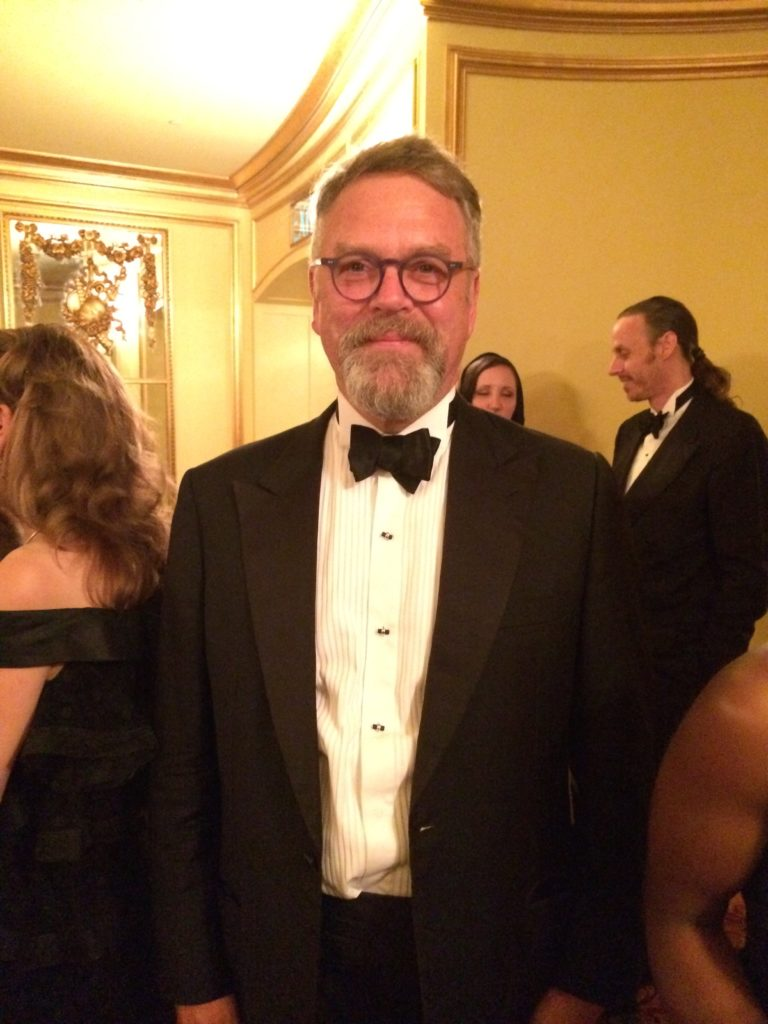 Nion McEvoy looker dapper at the Opening of the SF Opera. Photo by Mira Veda