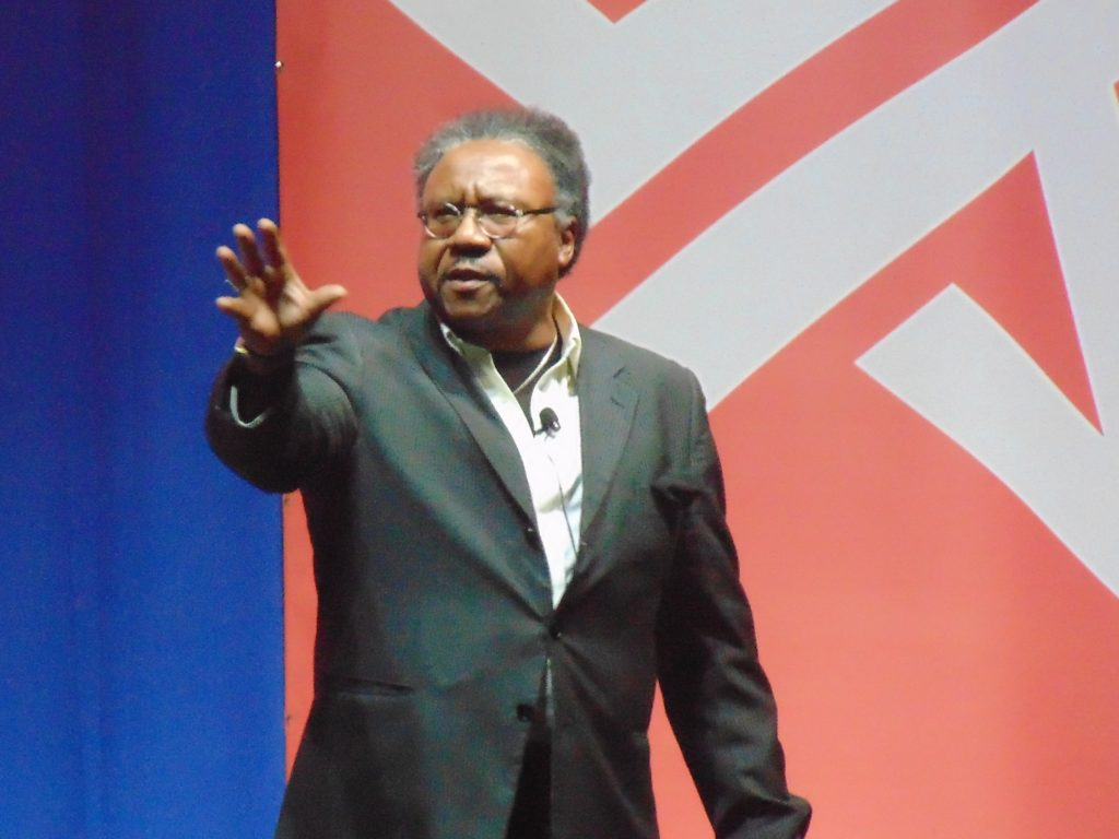 Rev. Bryant at Riding Tide Summit