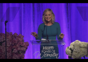 Amy Poehler's Speech Will Make You Love Her More