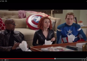 SNL Spoofs Rom-Coms and Lack of Female Superhero Movies