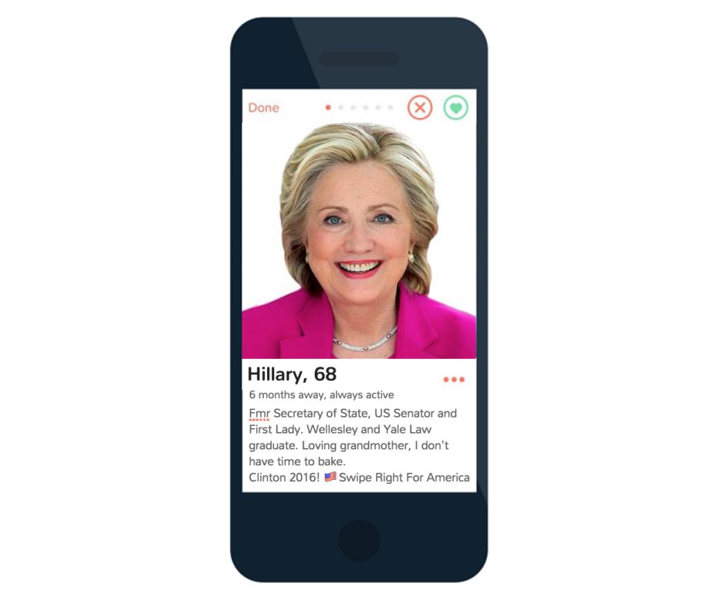 Clinton tinder