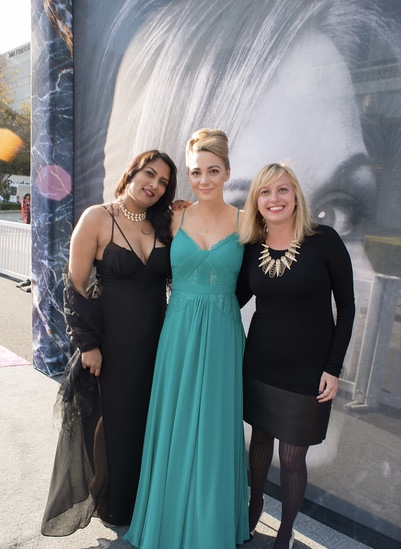Mira Veda, Danielle Maybach and Christina Brodbeck at SF Symphony Gala Opening Night. Photo credit Moanalani Jeffrey
