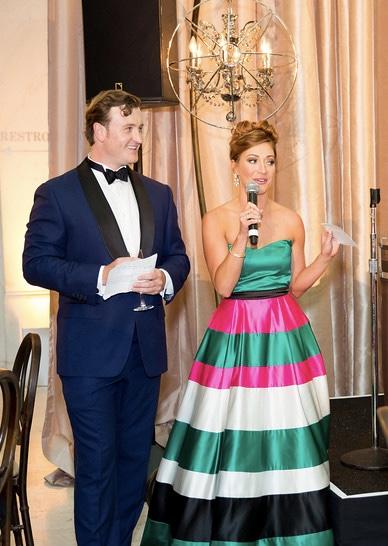 Co-Chair of Symphonix Whitney Hudak and Jesse Hunt at SF Symphony Gala Opening Night. Photo credit Moanalani Jeffrey