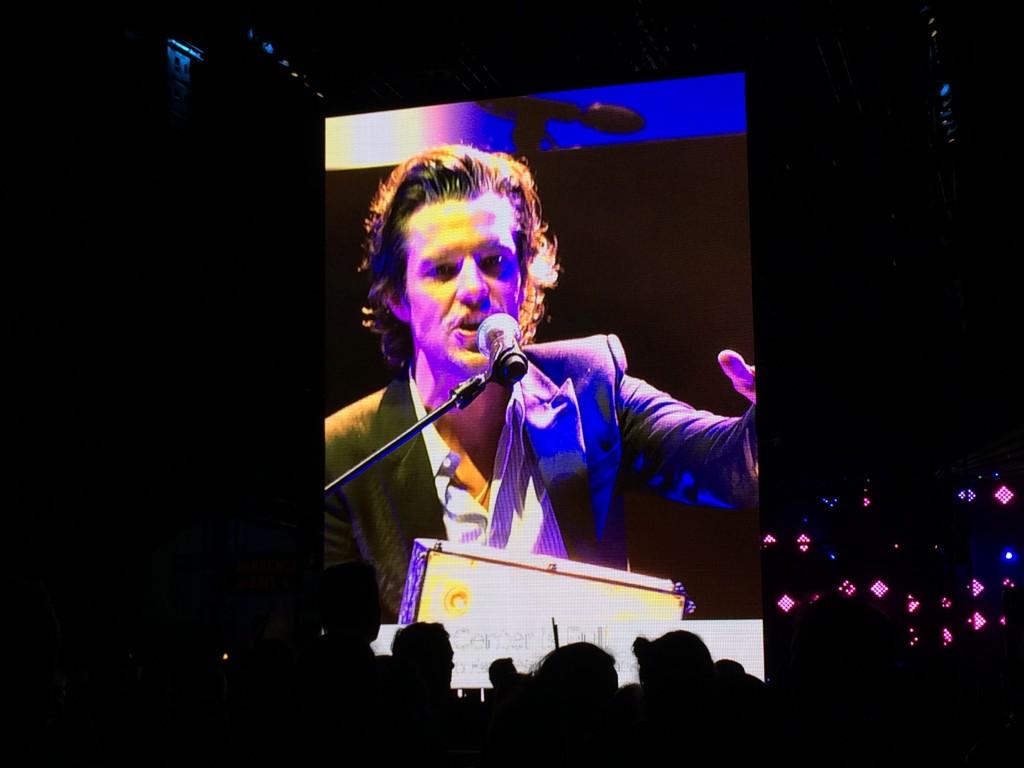 Killers perform live at Dreamforce San Francisco. Photo credit Mira Veda